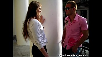 Casual Teen Sex - Creampied Lafee on a first date teen porn