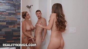 Hot Ladies (Kimmy Granger, Eva Notty) Fucks One Big Dick - Reality Kings