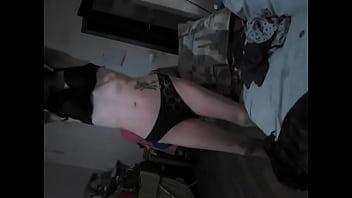 Skinny small tits