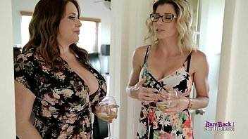Step Mom with Huge Tits and Step Aunt Suck My Cock - Maggie Green and Cory Chase thumbnail