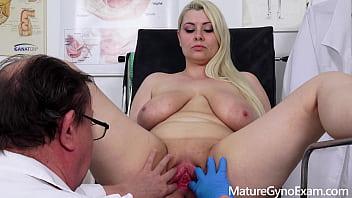 Chubby pornstar Alexa Bold examined by kinky doctor