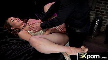5KPorn - Big Ass PAWG Naomi Blue Overflows Jizz from Her Cunt