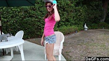 Dagfs - Kaylee Haze Shows Off Her Tiny Teen Body 6 min