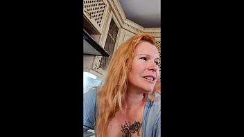 Slutty Busty MILF Fucks with her Lover and Makes a video to her Husband 12 min