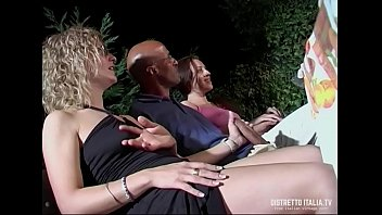Orgy Party for Francesco Malcom and Roberto Malone with beautiful pussy 25 min