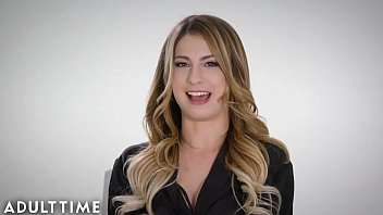 ADULT TIME Kristen Scott & Jenna Sativa-Real, Passionate Lesbian Sex!