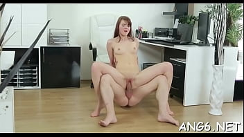 Racy redhead Licije gets cunny fingered