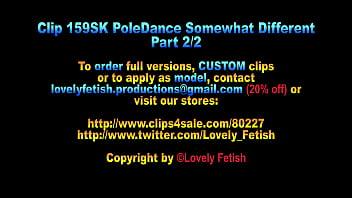 Clip 159SK Pole Dance Differently - Part 2 - 20:10, Sale: $9 34 sec