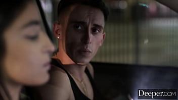 Deeper. Starlet Emily's boyfriend regrets getting cucked