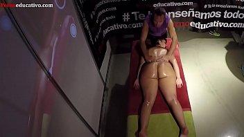 Demostración de masaje erótico : Parte I ADR072