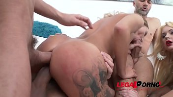 Katrin Tequila & Emily Thorne get their Assholes Stuffed to Capacity