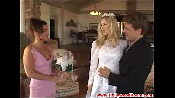 XVIDEOS Bride and Bridesmaids' Anal Afternoon free