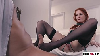 Pantyhose fetish sex with redhead beauty Lacy Lennon and Ramon Nomar - Axel Brauns Nylon 3 Scene 1