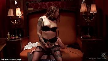 Big boobs bound Asian MILF anal fucked