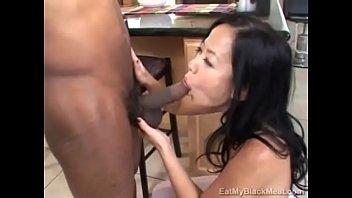 Little Asian Niya Yu Learns Her Holes Belong To Black Cock thumbnail