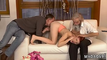 Old man hot babe Unexpected practice with an older gentleman