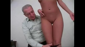 Old man fuck girls - Old man gropes and fuck a young and sexy girl