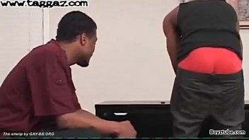 Black gay model thug Two dl black get up