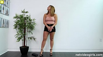 Perfect Pussy Gets Fucked Nice and Hard During Audition