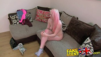 Summer porn - Fakeagentuk squirting casting girl back for more porn action