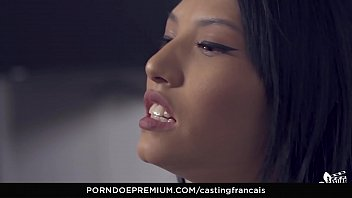 Casting Francais - Amateur Canadian Brunette Banged In First Time Sex On Camera