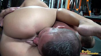 Rounded big tits and erotic lips used for s. and teasing slave 8分钟