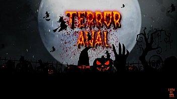 TRAILER Noche de Halloween Terror Anal Linda del Sol & Cris Angelo