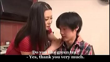 Japanese Milf And Young Boy thumbnail