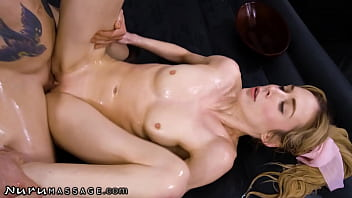 NuruMassage Aiden Ashley Goes Into A Hard Squirting Frenzy