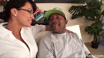 Lisa Ann Fucked Hard by Large Black Cock