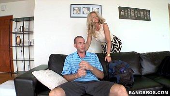 Stepmom seduces daughters boyfriend 5 min
