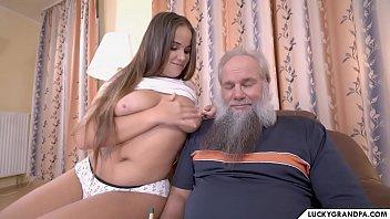 Sweet Busty Teen Fucked By Grandpa