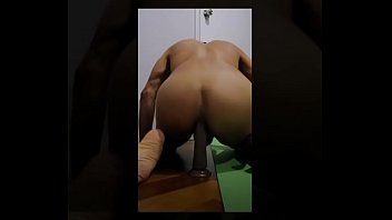 Anal dildo young male