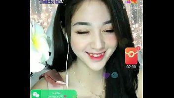 Asian girl livestream Uplive 2 min