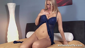 Nikita Valentin solo masturbation scene
