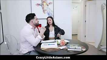 Petite Asian Teen Stepsister Paisley Paige Family Fucked By Stepbrother On Kitchen Table