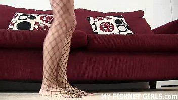 Stroke your cock to me in my sexy new fishnets JOI's Thumb