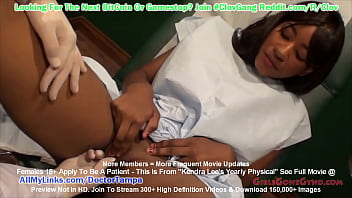 $CLOV - Busty Ebony Kendra Lee Gets Yearly Physical & Gyno Exam From Doctor Tampa At GirlsGoneGyno.com