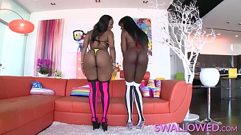 Swallowed Ana Foxxx And Chanell Heart Blowing Fat Dick