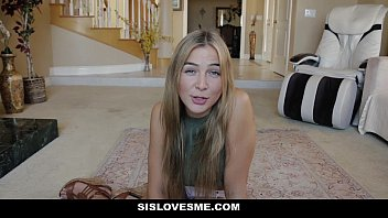 SisLovesMe - Sharing My Bed With Horny Step-Sis (Blair Williams) thumbnail