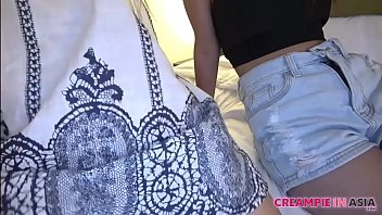 Asian Chick Creampie 3Sum Uncensored