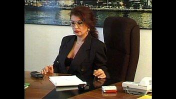Boys anal video A goofy boy facing the sexy principal dreams to fuck her on the desk