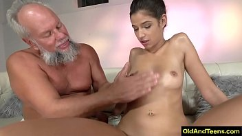 Old guy with girl 6 min