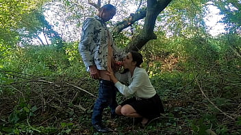 Streaming Video Daddy Took Me For A Walk In The Woods And Got Me To Suck His 9 INCH Cock! - XLXX.video