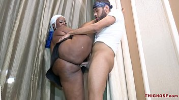 Majiik Montana twist and fucks Juicy Thycc in all kinds of positions on thickasf.com
