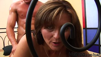 European Step Mother Gets A Nice Facial