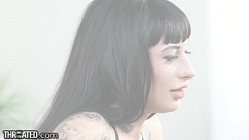 Throated - Inked Babe Jessie Lee Throat Gagged & Face Fucked