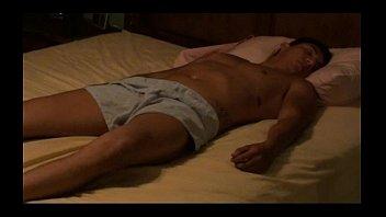 Erotic Naked Sleeper at Motel on hidden cam