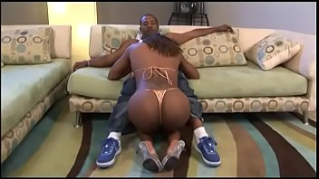 An expert in blowjob Danni Dior sucks black cock and takes it from behind thumbnail