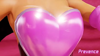 Rouge's bursting breasts